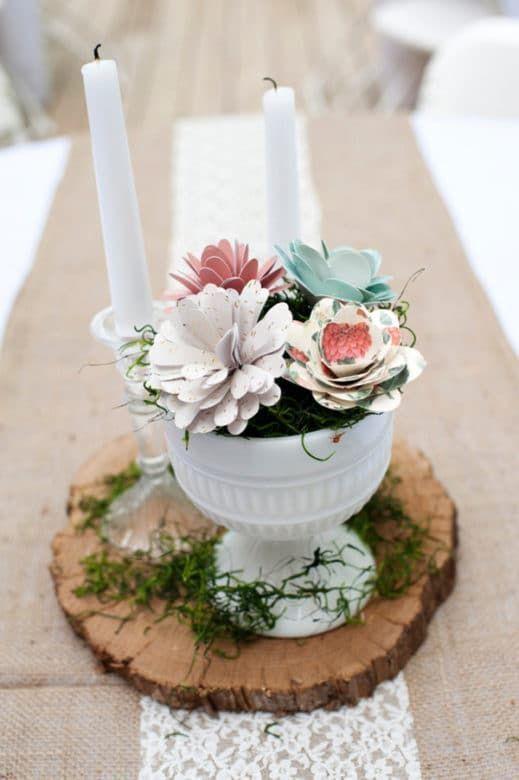 958 best Rustic Wedding Centerpieces images on Pinterest | Rustic ...