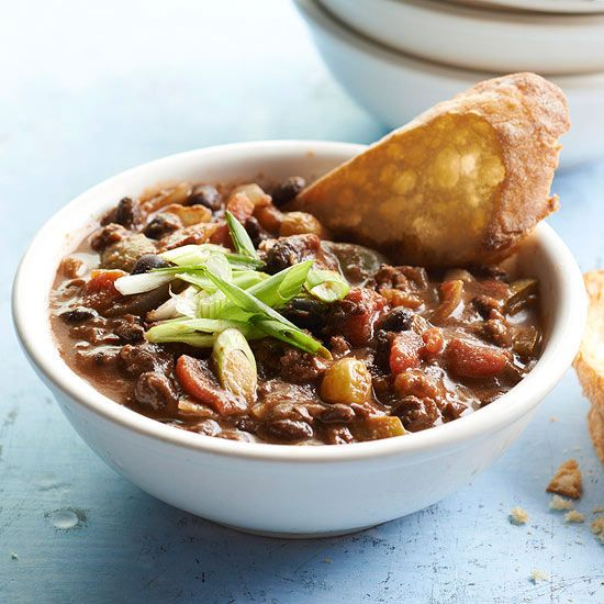 Beef and Black Bean Chili | Recipe | Chilis, Black Bean Chili and Bean ...