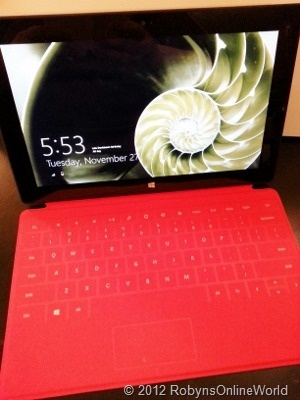 Microsoft Surface Tablet!  http://pinterest.com/pin/41376890297975425/