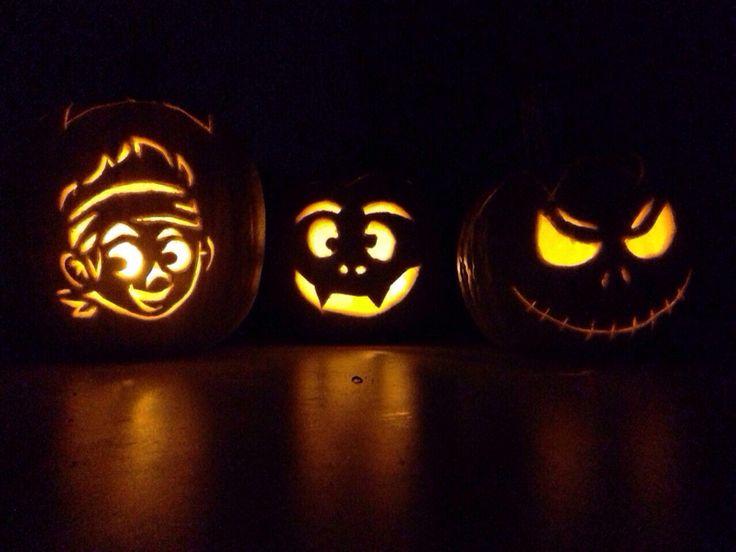 Kürbis schnitzen Halloween 2014. - Jack der Nimmerlandpirat von Disney pumpkin carving halloween 2014. - Jack the neverland pirat from disney