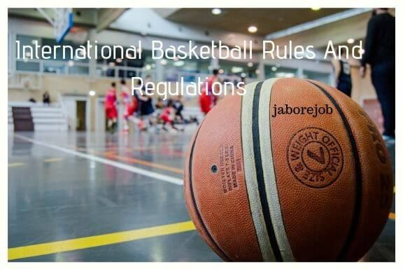 International Basketball Rules And Regulations Basketball Rules Basketball Rules