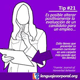 Éstos son los tips 21 al 30, publicados regularmente a través de nuestra página de Facebook: