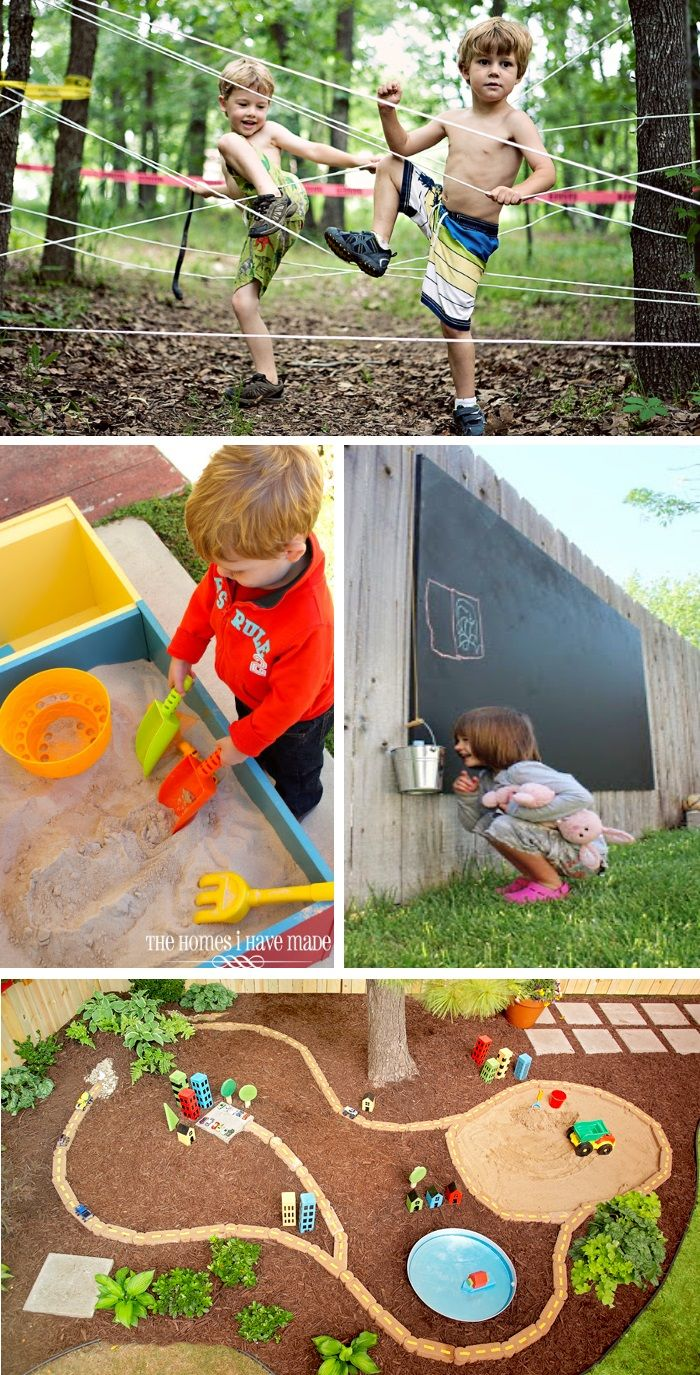Lots of fun Earth Day ideas!!  Transform your back yard into a play scape for your kids to explore!