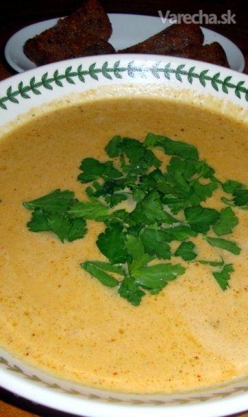 Hustá zeleninová polievka - Potage (fotorecept)
