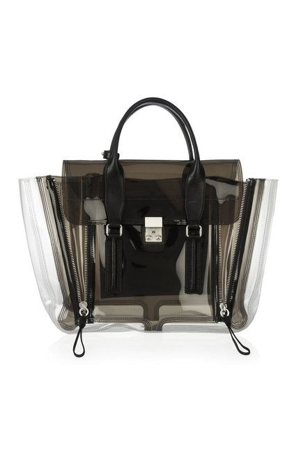 Phillip Lim transparent PVC bag
