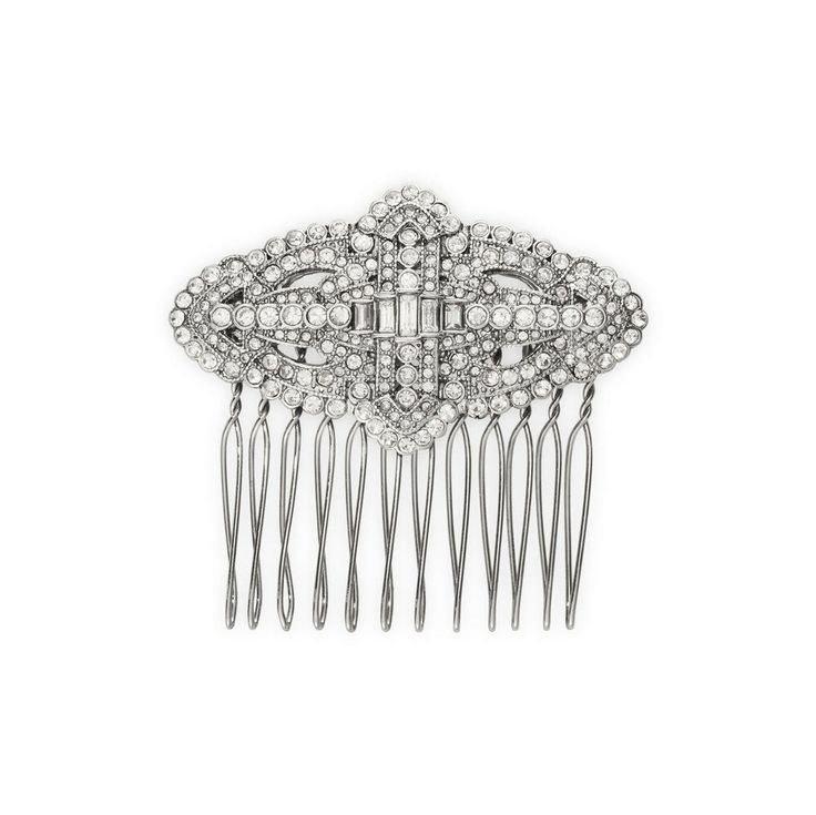 Chloe And Isabel Art Deco Hair Comb H064CLAR--NEW WITHOUT