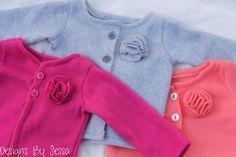 Flower+Fleece+Cardigan+Sewing+Tutorial