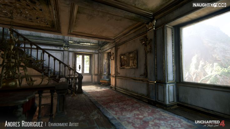 This gallery presents some of my work on Uncharted 4: A Thiefs End. As an Environment Artist I was in charge of the modeling and world building…