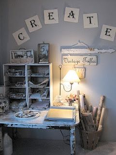 would love this room to craft in