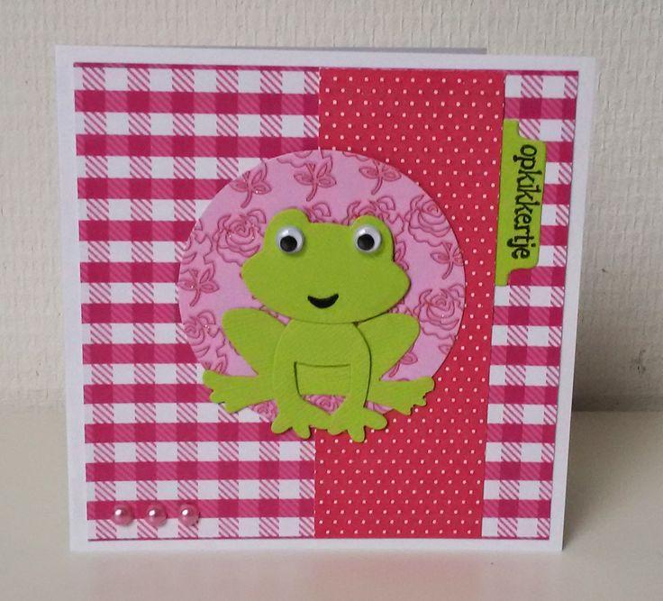 Moostly Cards & Crochet: Serie #16 Opkikkertje