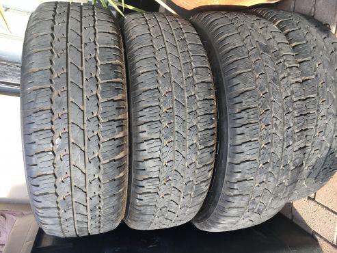 Bridgestone Dueler 265/65/17 | | Tyres and Wheels | 67331654 | Junk Mail Classifieds