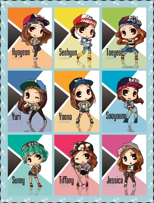 Girls Generation. Seriously don't like them, but this was way to cute to my repin.