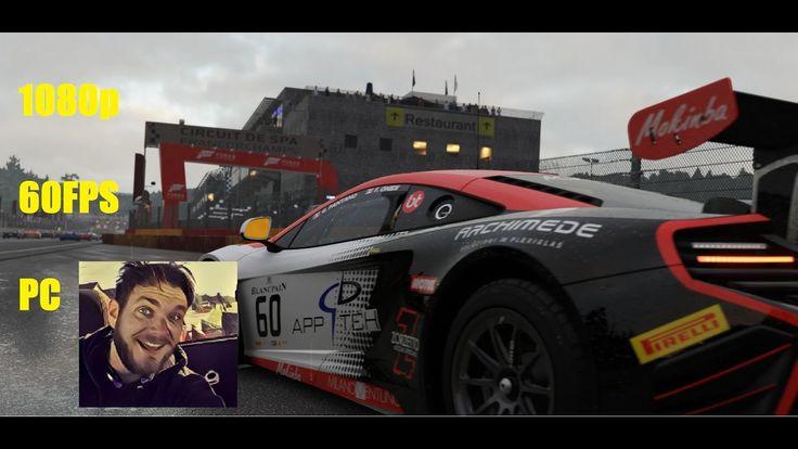 Forza Motorsport 6 Apex McLaren GT3 1080p 60FP heavy rain https://www.youtube.com/watch?v=C70VcMbQFrQ