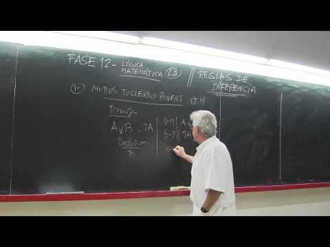 FASE12( L3)-Lógica Matemática- Reglas de Inferencia - YouTube
