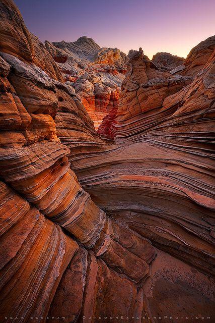 Vermilion Cliffs, Arizona | by Sean Bagshaw, via Flickr