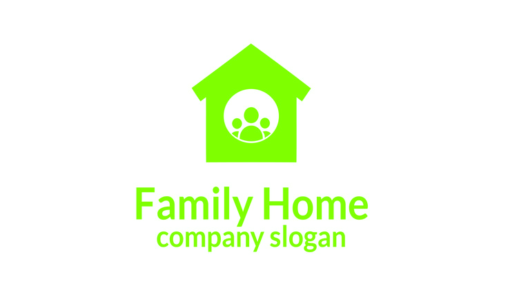 Home Family Logo - Logos & Graphics