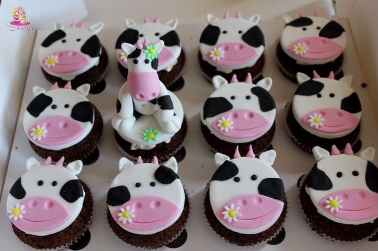 decoration gateau vache