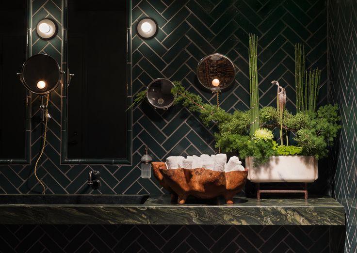 Graham Baba Designs Moody Deep Dive Speakeasy At Amazon S Seattle Headquarters In 2019 Bar Design Awards Tile Design Design