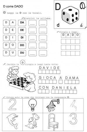 D DI DADO CLASSE PRIMA