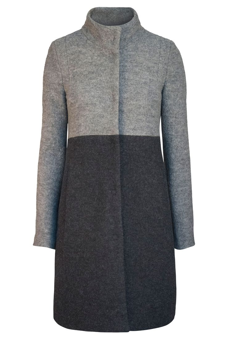 'ove fashion / think organic / be responsible: This quality Walkmantel 100% Virgin Wool with cotton lining boasts a fashionable melange look. You can order it for 319.90 EUR free shipping in Germany in LANIUS Online Shop.'