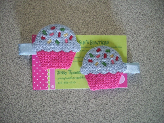 Crochet Hair Clip Ideas : ... Crochet Flower, Crochet Pattern, Crochet Headbands, Crochet Hair Clips