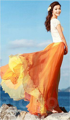 Shit I need this one too!! Lmao #Longskirt #chiffonSkirt #Skirt
