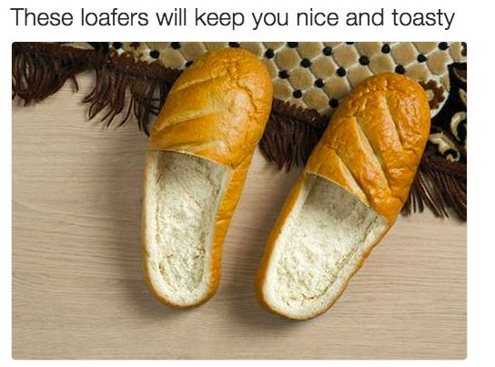 Dad's new shoes: | 27 Dad Jokes That Are So Bad They're Actually Amazing