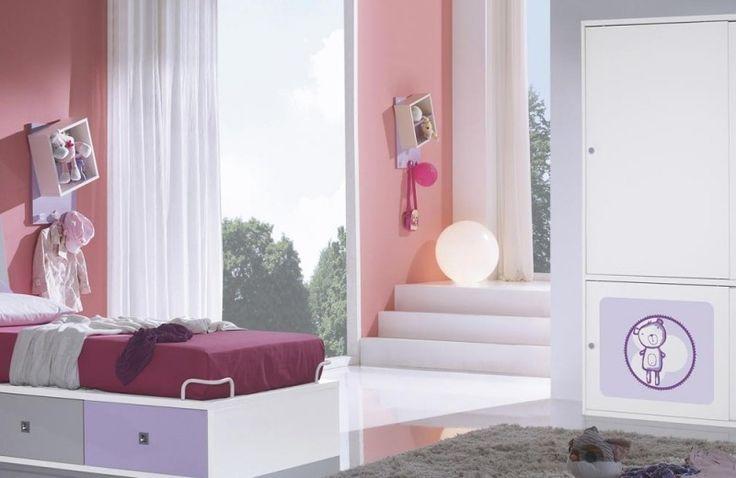 Juvenil, ideal , cuqui... mil adjetivos lo podrían definir y todos positivos :) #sleep #bedroom #bed #decoración #hogar #diseño #tendencia