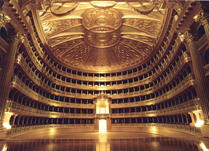 La Scala Opera Hall in Milano, Italia