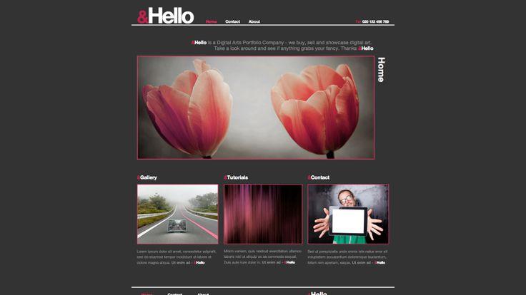 Diseño web para sector servicios marketing