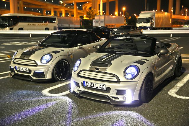 Mini Cooper & Mini Cooper S JCW #mini