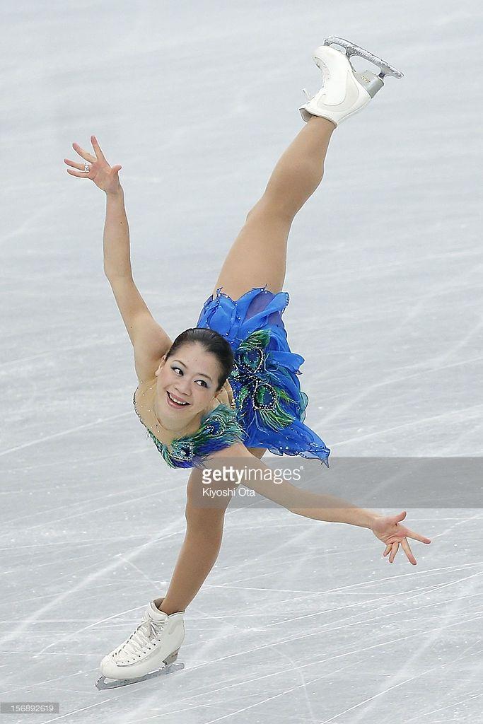 News Photo : Akiko Suzuki of Japan competes in the Ladies Free...