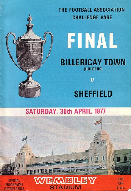 Billericay Town v Sheffield FC FA Vase Final 1977 by footysphere, via Flickr