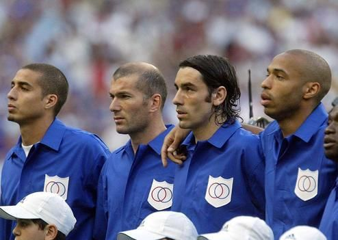 Once upon a time in France... Trezeguet, Zidane, Pires e Henry