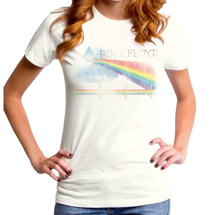 Pink Floyd Girls T-Shirt - Prism Color Relic - NerdKungFu