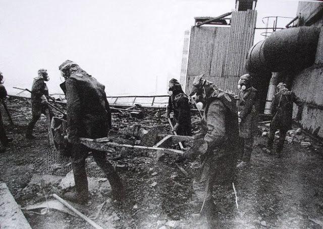 Liquidadores del accidente nuclear de Chernobyl