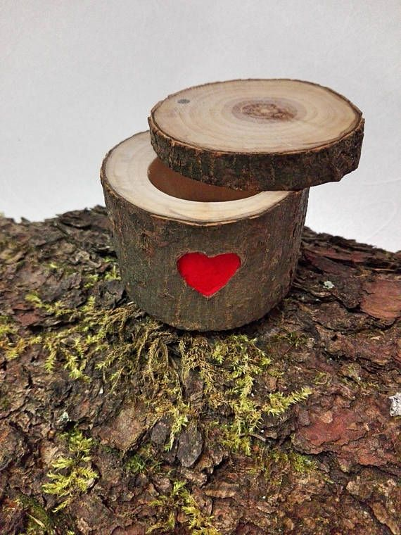 Engagement Ring Box Wooden Wedding ring box Personalized