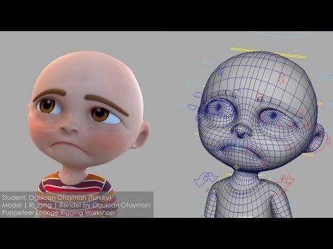"CGI 3D Showreels HD: ""Character Rigging Showreel "" by Ogulcan Tayman - YouTube"