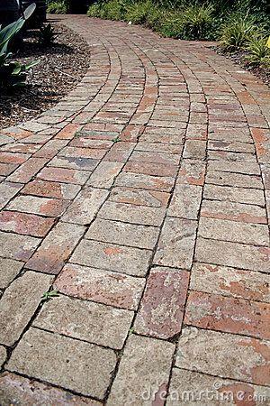 Brick path by David Hyde, via Dreamstime