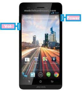 How to Hard Reset and Factory Reset Archos 50 Helium 4G