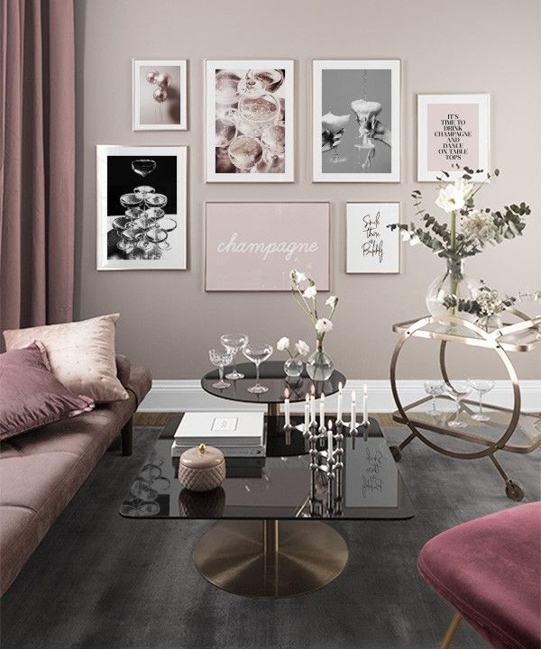 Gallery Wall For The Living Room Inspiration For The Living Room Desenio Picture Wall Living Room Living Room Decor Cozy Living Room Inspiration
