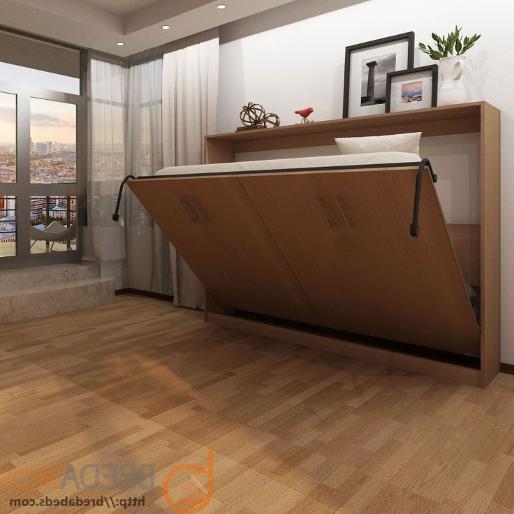 horizontal full size murphy bed plans with desk attic remodel