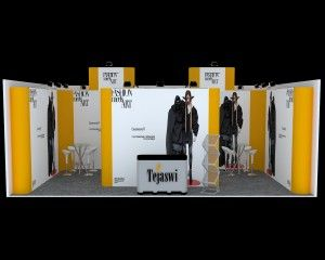 A complete solution for Portable Exhibition Kit