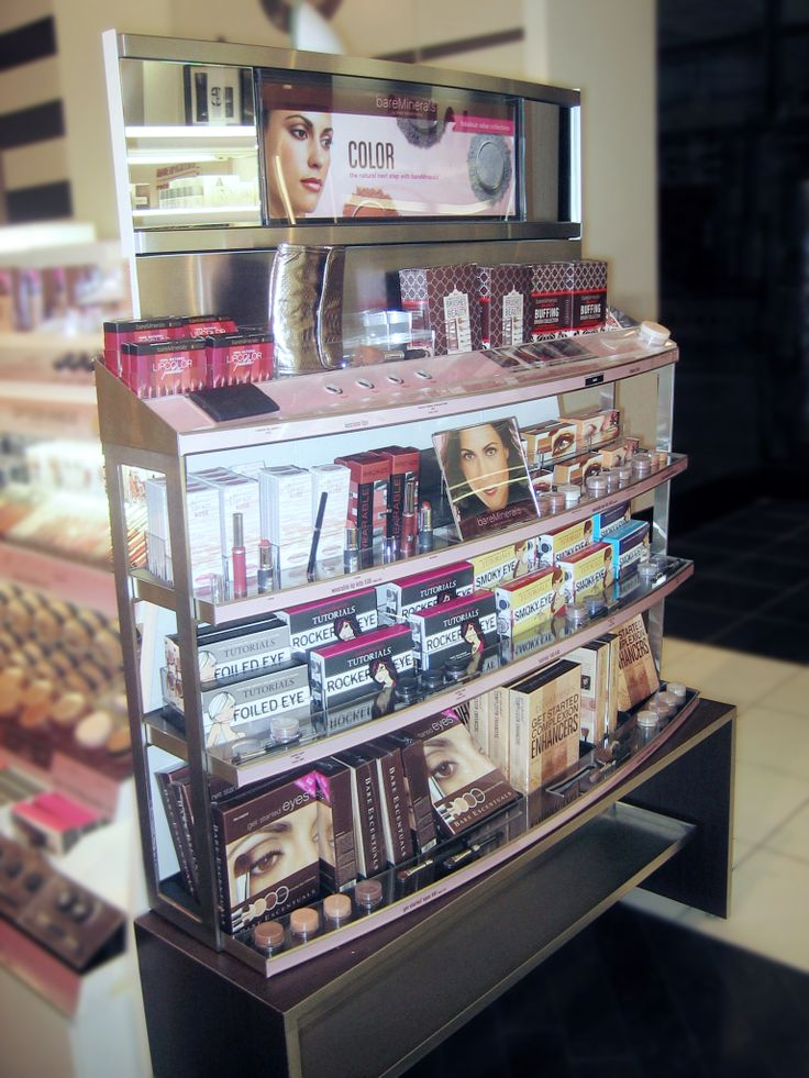 Sephora Endcap Bareminerals Retail Design Exhibition Design Visual Merchandising