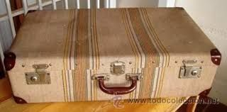 Las maletas de entonces.:
