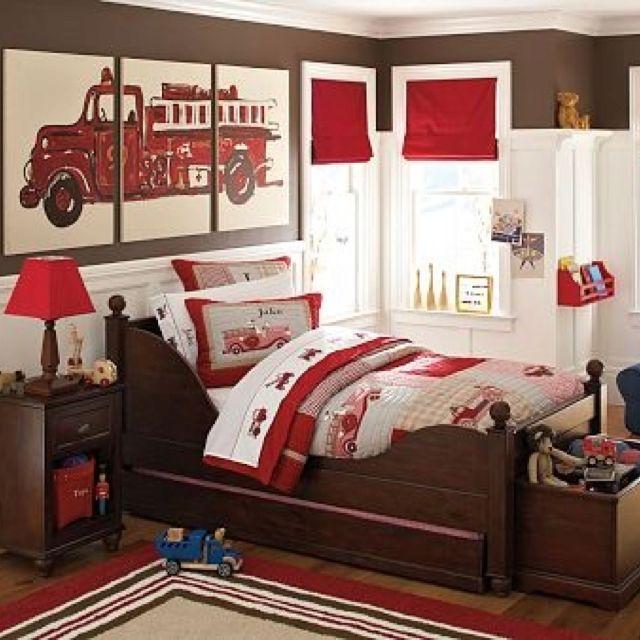 Broken Bedroom Door Fire Engine Bedroom Accessories Bedroom Before And After Makeover Warm Bedroom Colors And Designs: 82 Best Images About Firefighter And Police Bedroom Ideas