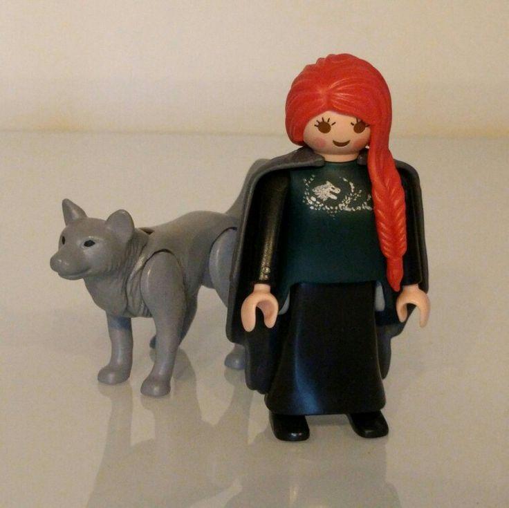 Custom Playmobil Sansa Stark, Game of Thrones