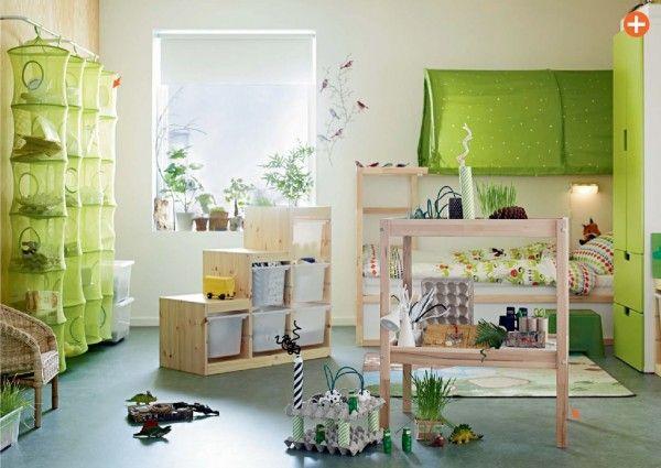 Green Kids Room IKEA
