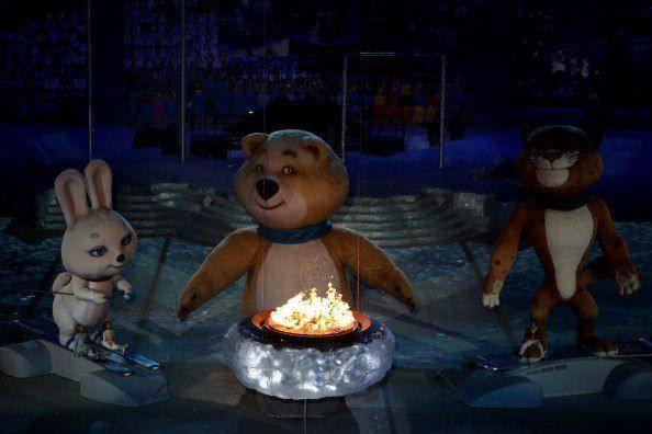 Церемония закрытия XXII зимних Олимпийских игр в Сочи (89 фото) - Гид Краснодар
