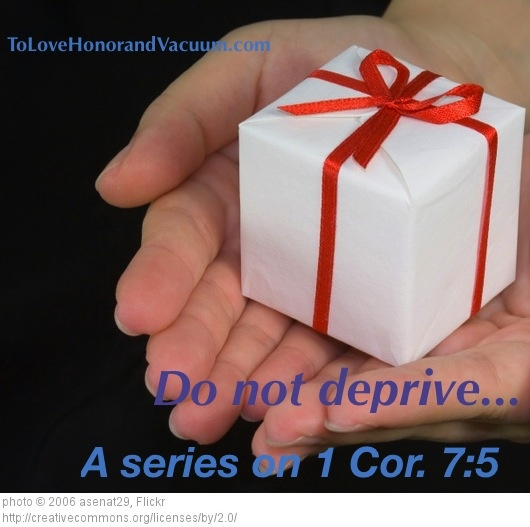 """What does """"do not deprive"""" when it comes to marriage really mean? A great overview."""